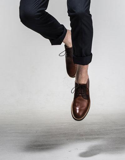 chaussure-cuir-homme-marron