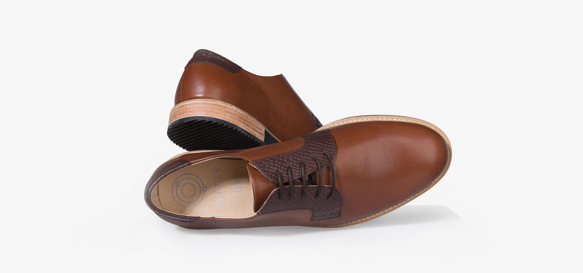 chaussure derby homme camel 2 1 subtle shoes. Black Bedroom Furniture Sets. Home Design Ideas