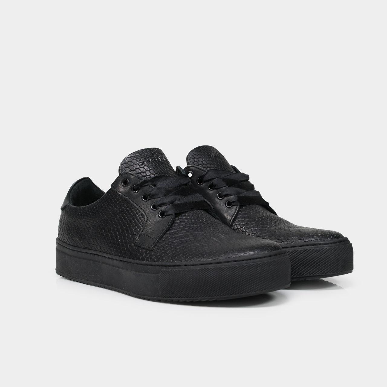 Sneaker delta sport - full black - Subtle num 1