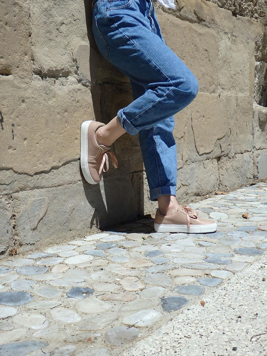 Adeline-Basket-Subtle-nude Street Style