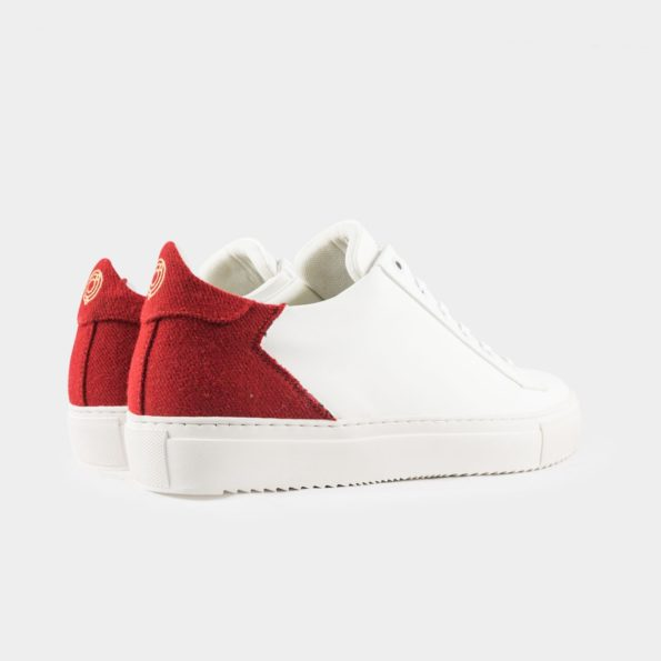 Basket-blanche-vegan-Epsilon-blanc-rouge-talon-Subtle-shoes-595x595