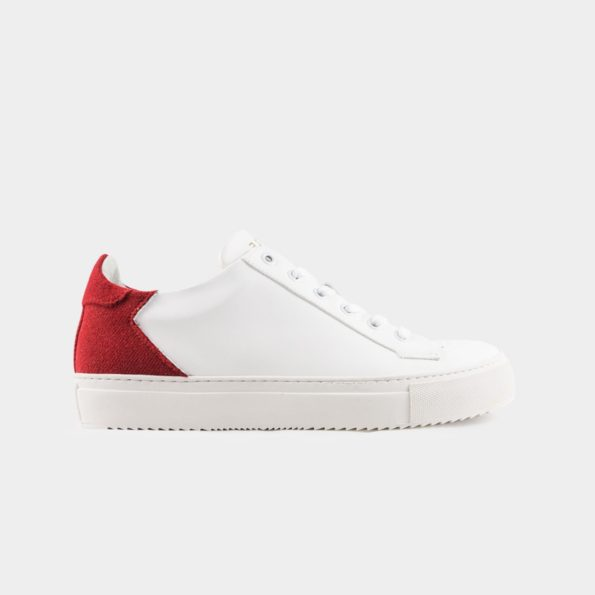 Basket-vegan-Epsilon-blanc-rouge-Subtle-shoes-T42-595x595