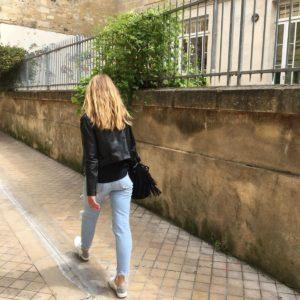 Street Style Pauline Basket blanche vegan Epsilon lino